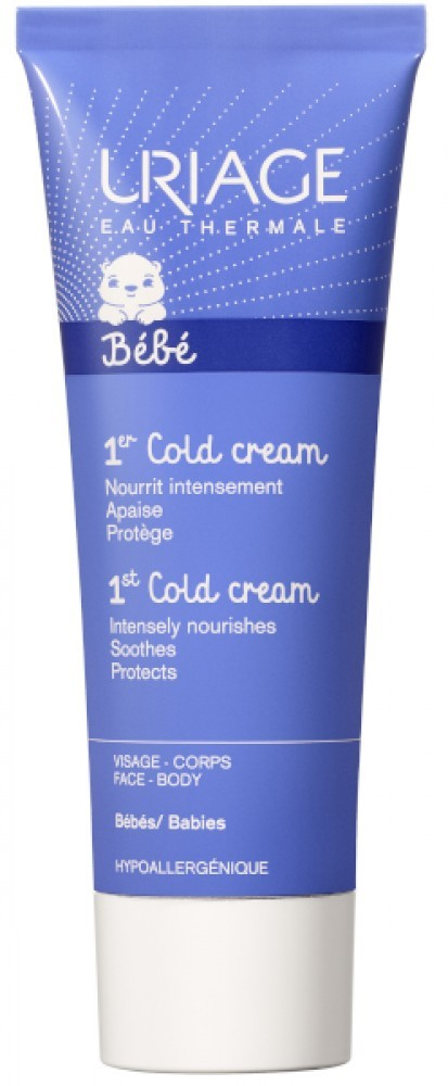 Uriage baba cold cream tápláló védőkrém 75ml