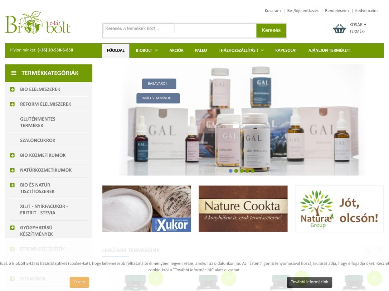 Netbiobolt.hu (korábban Biobolt E-tár)